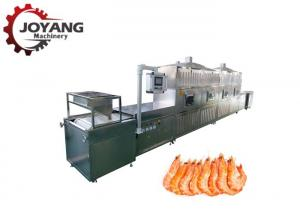 China Tunnel Microwave Shrimp Drying Machine Stainless Steel Industrial Drying Equipment on sale