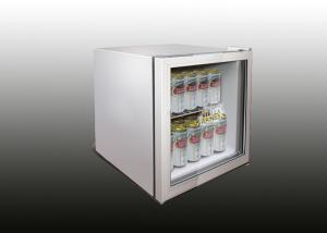 25L Mini Table Top Commercial Refrigerator / Glass Door Bar Fridges For  Coffee