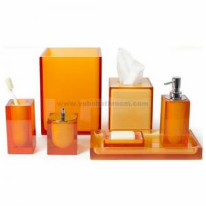 China Hotel bathroom accessories sets on sale