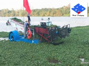 China Water Garbage Collection Boat/Trash Skimmer Ship for Lake Pollution Clean on sale