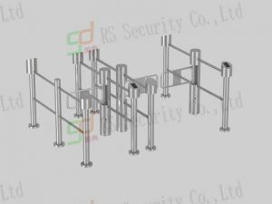 Quality Porte d'oscillation de supermarché d'entrée de sécurité, tourniquets automatiques de barrière d'oscillation for sale