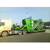 China 80TPH Mobile Hot Mix Plant 270kw Power With Bag House Filter For Road Construction on sale