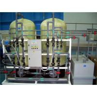 Different Capacities Water Softener Plant For Industrial Use Simple Installation