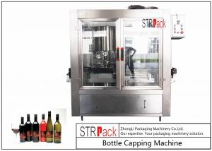 China Rotary Crimping Electric ROPP Capping Machine6 Heads For Aluminum Cap Bottles on sale