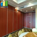 Banquet Room Acoustic Partition Walls Sound Proof Collapsible Operable Partition