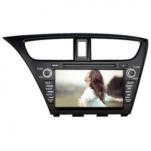 China Honda 2013 NEW CIVIC In dash car dvd player car dvd radio navigation Wholesale on sale