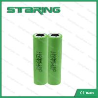 Fast shipping High drain rechargeable  LGAHA1  18650 1300MAH battery  for e cigarette batteries