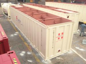 China Open Top Sewage Container 40ft High Cube General Purposes Easy Operation on sale