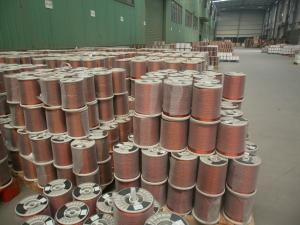 China IEC 60317 Aluminum enameled wire drawing from aluminum rod on sale