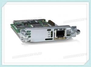 China Cisco Multiflex Voice / WAN Card VWIC3-1MFT-T1 / E1 With 1 X T1 / E1 Network Wan on sale
