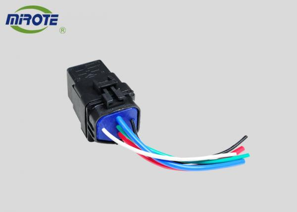 Waterproof , 5 Pin Automotive Relay With Socket Wire Harness ... on