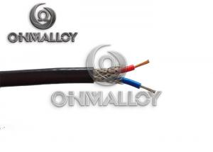 China 0.51mm Type K High Temperature Thermocouple Wire Fiberglass / Stainless Steel Braid on sale