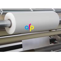 Print Finishing Lamination Bopp Film Roll Glossy / Matt Type EVA Heat Sensitive Layer