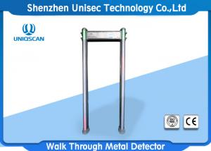 China IP65 PVC Material Pass Through Metal Detector Door Frame High Adjustable Sensitivity For Security Check on sale