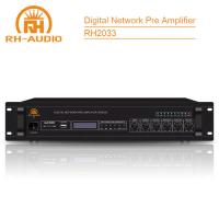 China RH-AUDIO Digital Audio Amplifier with Rj45 Network Port for IP PA System on sale