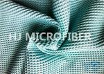 Turquoise Blue Microfiber Waffle Cloth Polyester & Polyamide 300GSM
