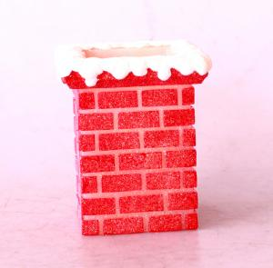 China Christmas Red Chimney led flameless candle/battery operated candle/LED lightings on sale