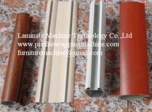 China Embaladora del perfil frío del pegamento del tablero que bordea del MDF on sale
