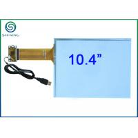 China 10.4 Inch Capacitive Touch Panel / Capacitive Touch Sensor Bonded On Front Glass on sale