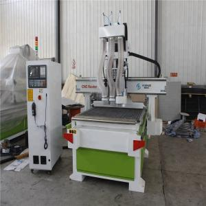 China XY Axis 3D Woodworking CNC Machine , Wood Design Cutting Machine 18kw on sale