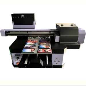 China KMBYC Support A4+ Small Glass UV Printer Digital Flatbed Printer for Metal Printer on sale