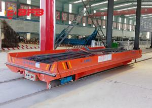 China Heavy duty electric Industrial Usage Motorized Transfer Cart china factory on sale