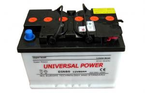 China DIN 80 Dry Charged Car Battery 12V 80AH Lead Acid Vehicle Battery on sale