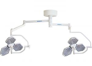 China Double Dome LED Surgical Operating Light With 6 Joints Arm Group Ceiling Type 120 W on sale