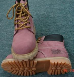 China steel toe working boots on sale