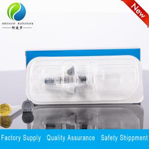 Quality cross-linked hyaluronic acid gel lip augmentation dermal filler 2ml injection for sale