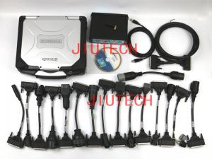 China Universial Heavy Duty Truck Diagnostic Scanner  Test Full Set with CF30 laptop tool on sale