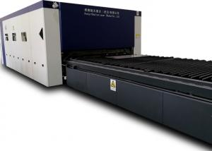 China Full Automatic Fiber Optic Laser Cutter For Metallic Sheet , Easy Operate on sale