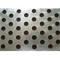 China Round Hole Perforated Steel Sheet , Q235 Steel Galvanised Perforated Sheet on sale