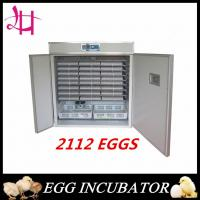Industrial Chicken incubator for poultry eggs hatching incuator 2112eggs LH-12