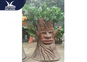 China Artificial Cartoon Waterproof Talking Tree Life Size Facility Theme Park supplier