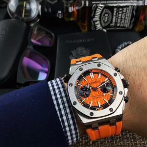 China AP Royal Oak Offshore Diver Chrono Rubber Strap Automatic Mechanical Watches on sale