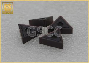 China Processing Steel Carbide Tool Inserts / PVD Coating CNC Insert Tooling on sale
