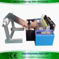 China aluminum foil slicing machine automatic PVC film slicer plastic film cutting machine non-woven fabric slicer on sale