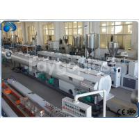 China 75~250mm HDPE Pipe Extruder Machine Production Line For Water Supply Pipe / Gas Pipe on sale