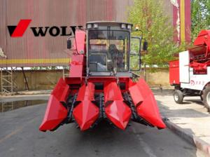 China low price corn combine harvester farm usage on sale