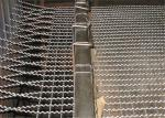 Stainless Steel / Galvanized Crimped Wire Mesh Rectangular Opening for Pig Feeding