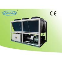 Commercial 60Ton Air Cooled Screw Chiller Refrigeration For Air Conditioner