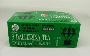 Quality Dieters′drink 3 Ballerina Slim Diet Tea Three Ballerina Herbal Weight Loss Tea, for sale