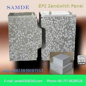 China 3d wall panel led panel light cement sandwich wall panel for composite construction on sale