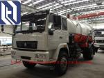 Sinotruk Howo 4m3 -  8m3 Light Duty Sewage Suction / Vacuum Truck