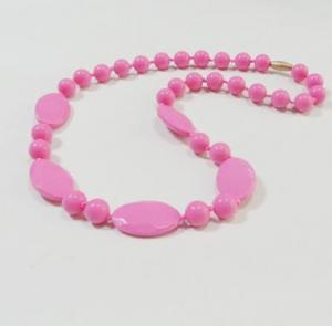 China Food grade BPA Free Silicone Teething Necklace for baby and young fashion lade decoration on sale