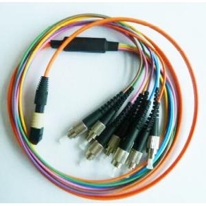 China International standard US Conec MPO to FC Harness & Fanout Cable Assemblies on sale