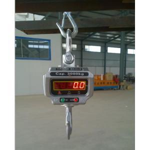 China Electronic crane scale with wireless remote control 3Ton 5Ton 10Ton on sale