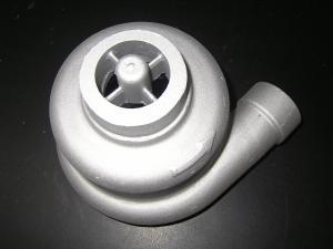 China Steel Iron Anodizing Sand Casting Aluminum 200 ~ 220 Degrees Brushing Treatment on sale