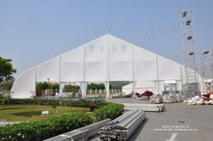 China Curve Tent 40*100m For Church on sale